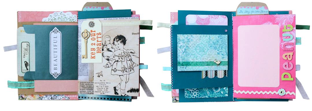 Baby Album Scrapbook for Girl