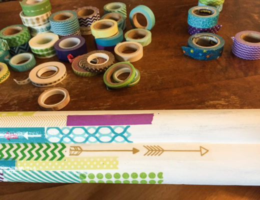 Washi Tape Photo Frame Tutorial