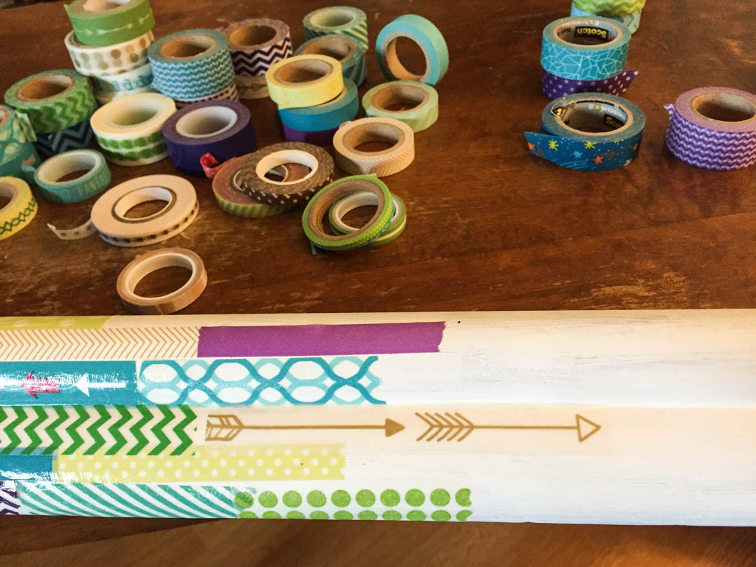 Washi Tape Picture Frame Tutorial