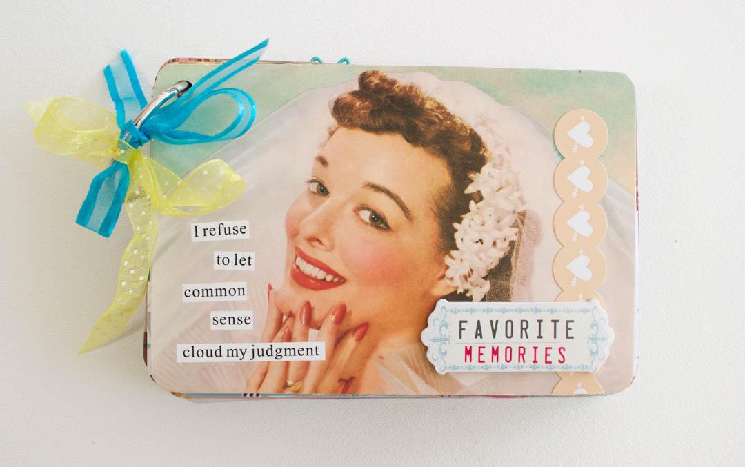 Vintage Postcard Mini Album
