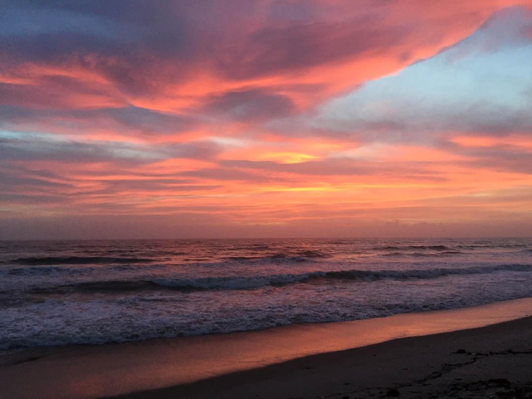 Sunrise photo by Amelia Woodbridge of Make Today Creative