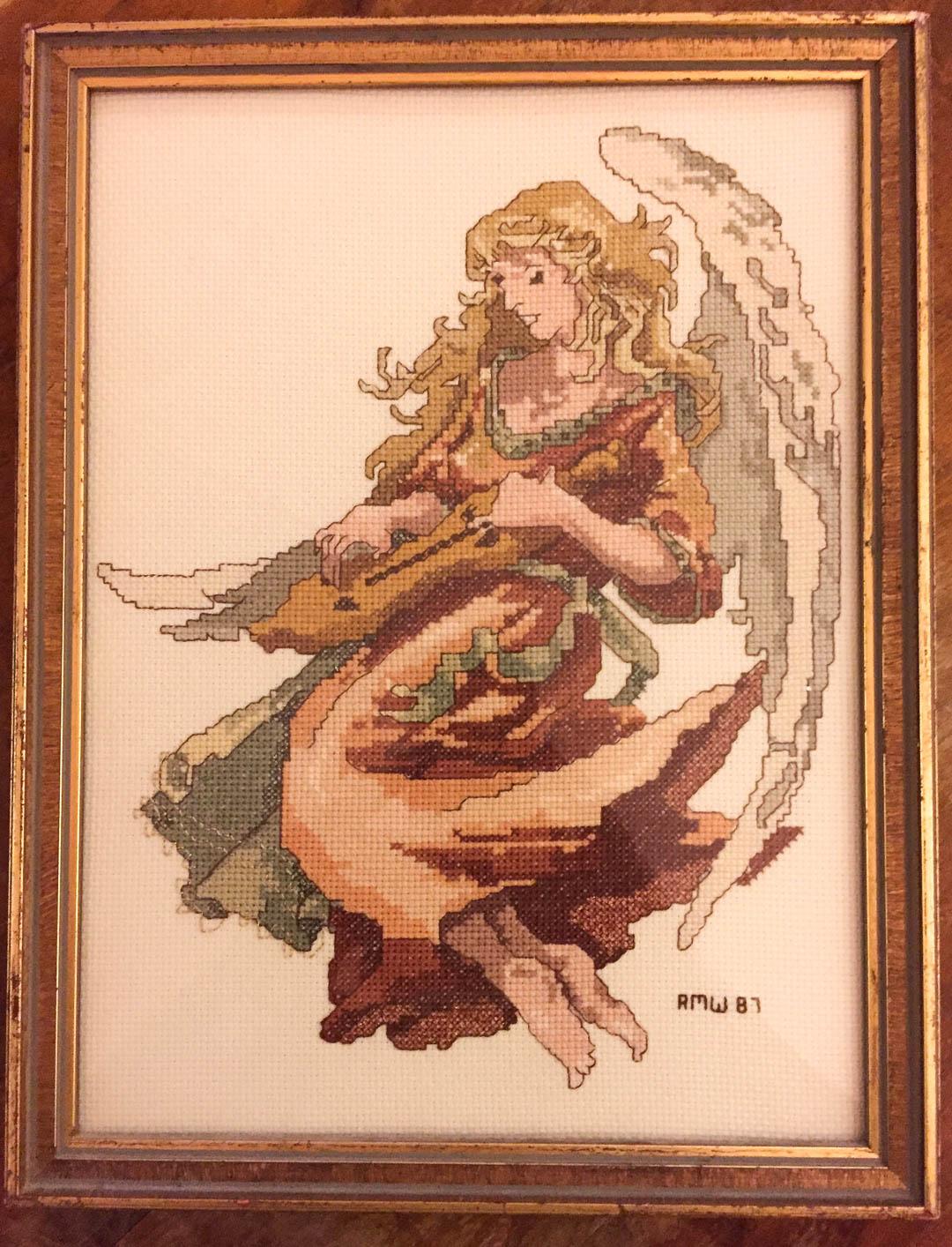 Cross Stitched Angel