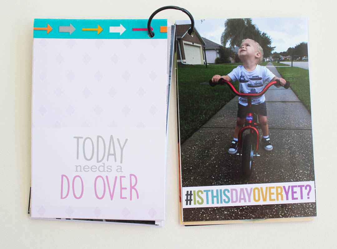 Bad Day Scrapbook Cards