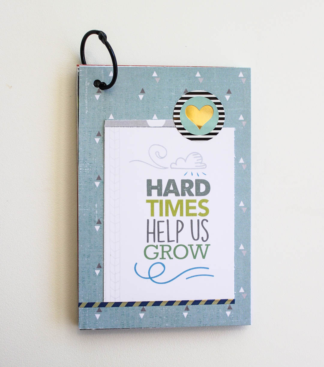 Scrapbook Journaling Cards with Bad Day Theme