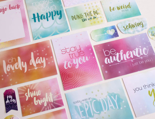 Make Today Creative Shop Watercolor Scrapbook cards