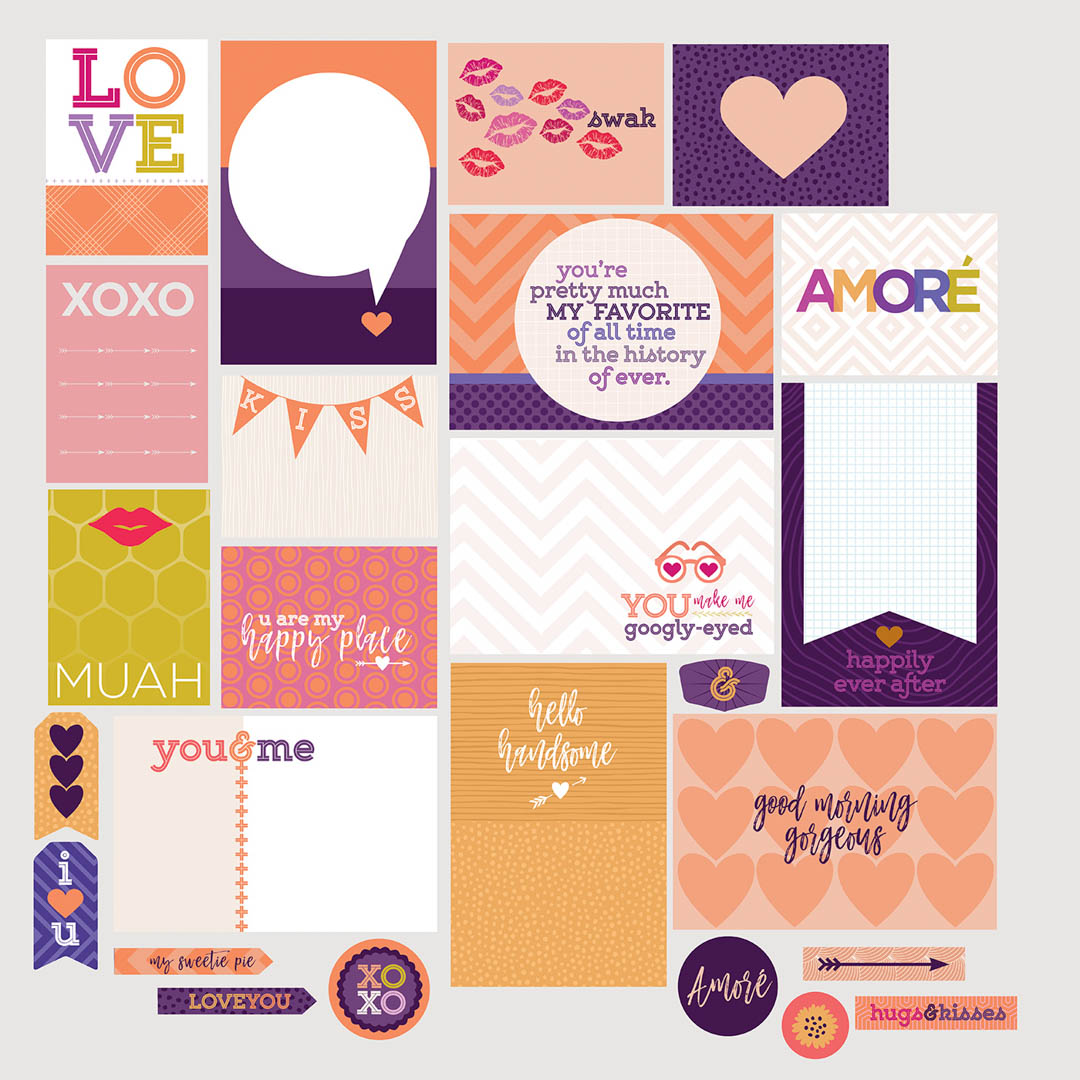 Love Themed Scrapbooking Cards
