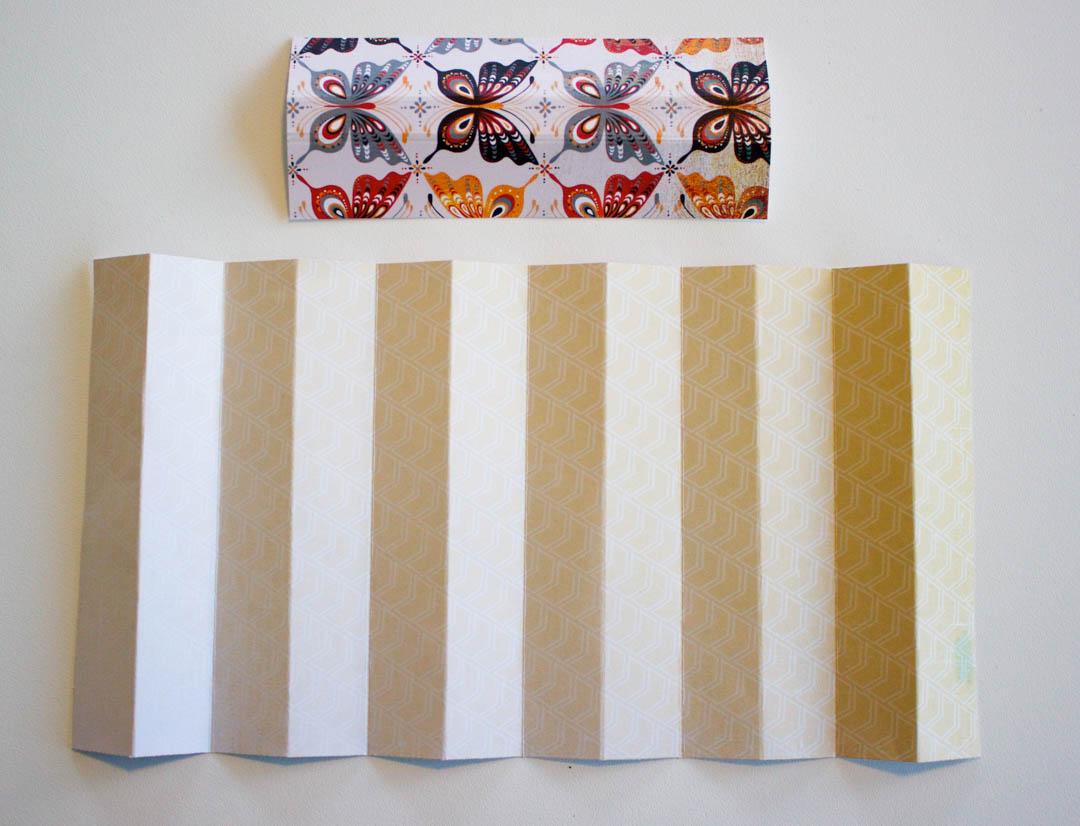 Accordion Fold Mini Album Binding