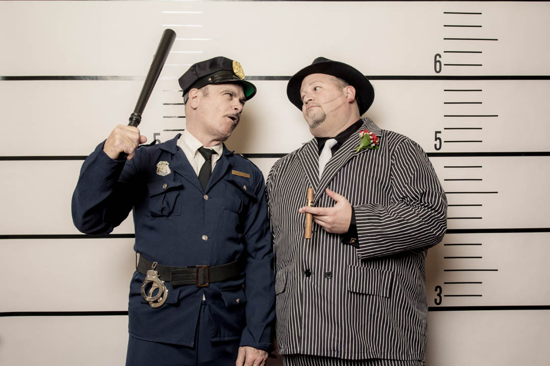 Gatbsy Party Capone and Cop