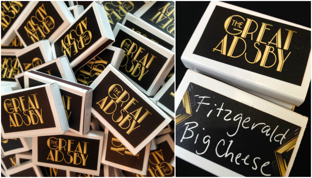 Gatsby Party Table Cards