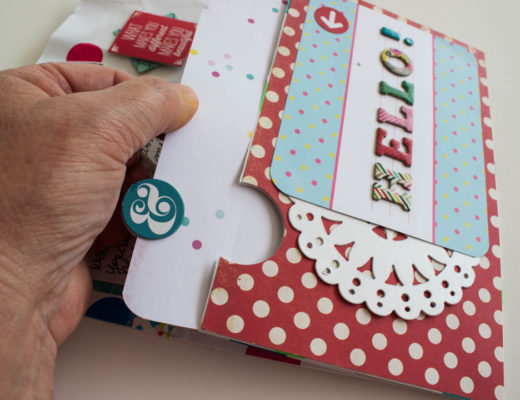 Gift Bag Greeting Card Tutorial