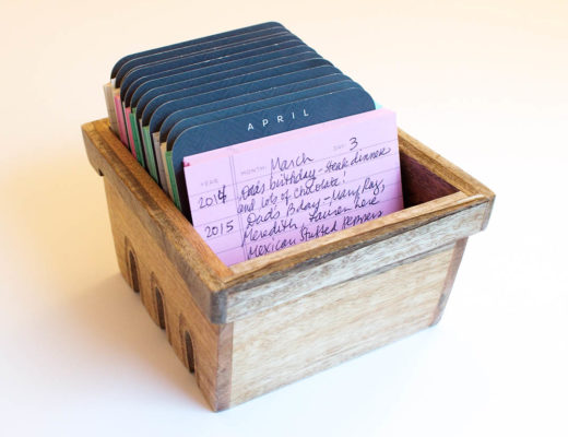 Creative Twist on Journaling - Index Cards