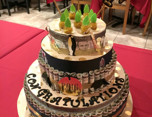Graduation Cake Decoration