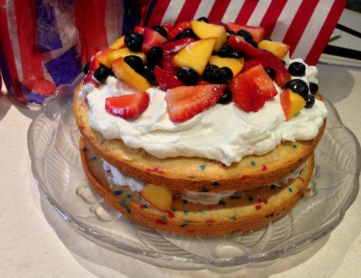 Patriotic Food: Sprinkle Cake