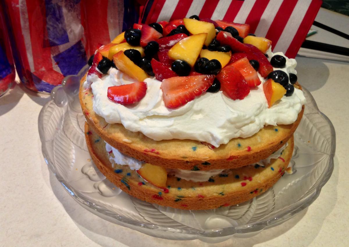 Patriotic Cake Idea