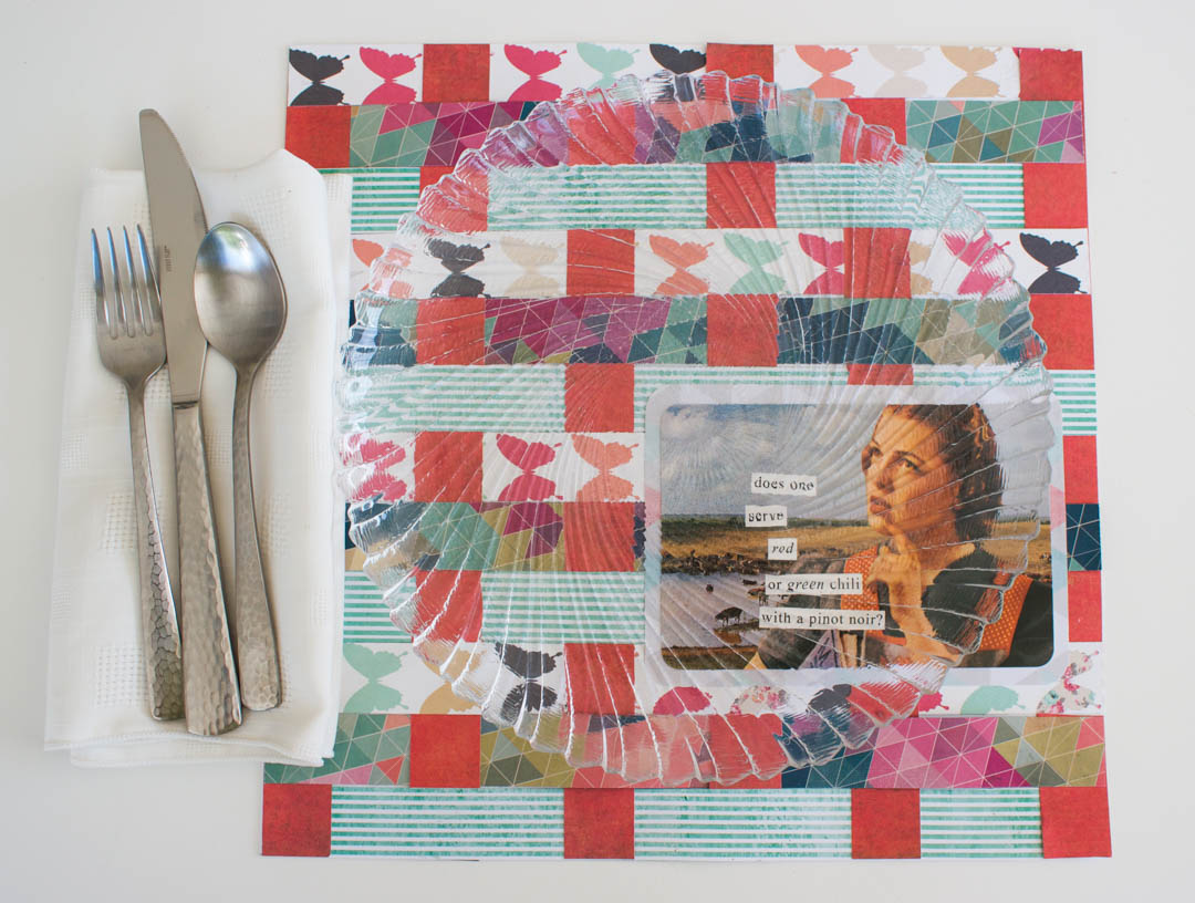 Weaved Paper Placemats
