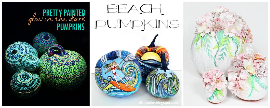 Halloween Pumpkins by Alisa Burke