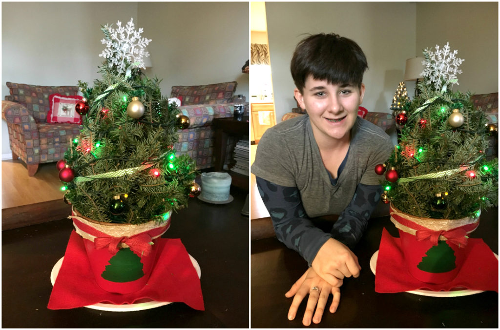Mini Christmas Tree Decor