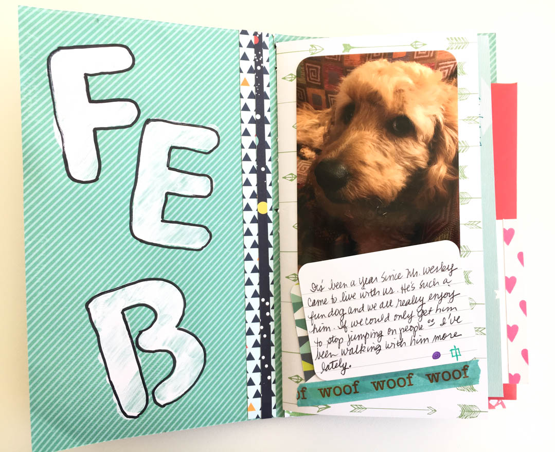 Mini Scrapbook Album | Make Today Creative