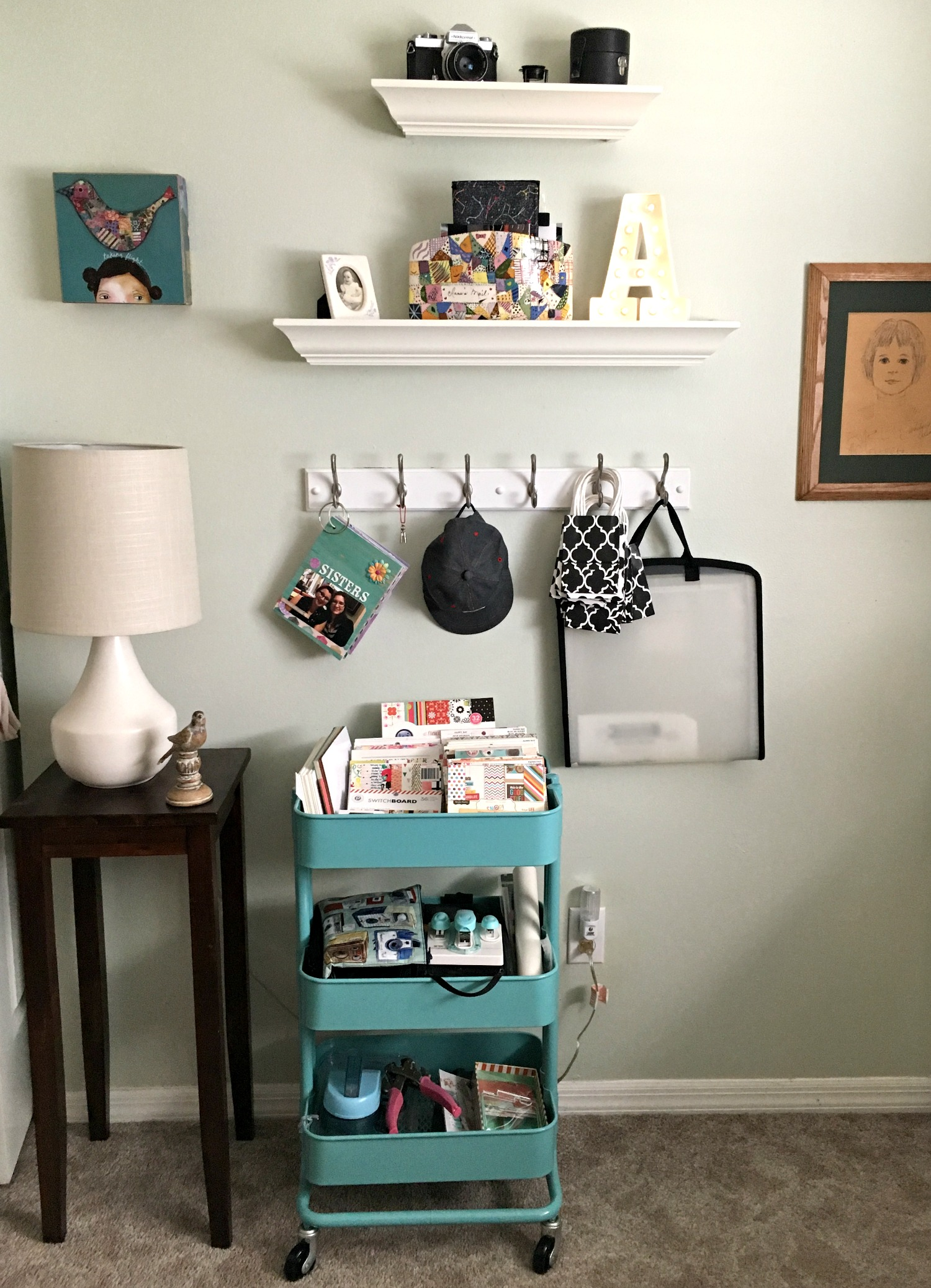 Craft Room Storage and Style