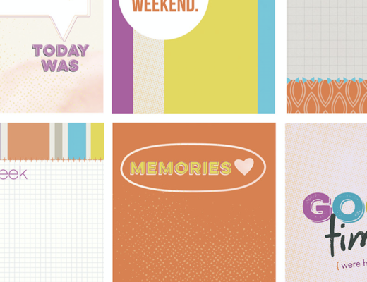 Citrus Mix Scrapbook Cards