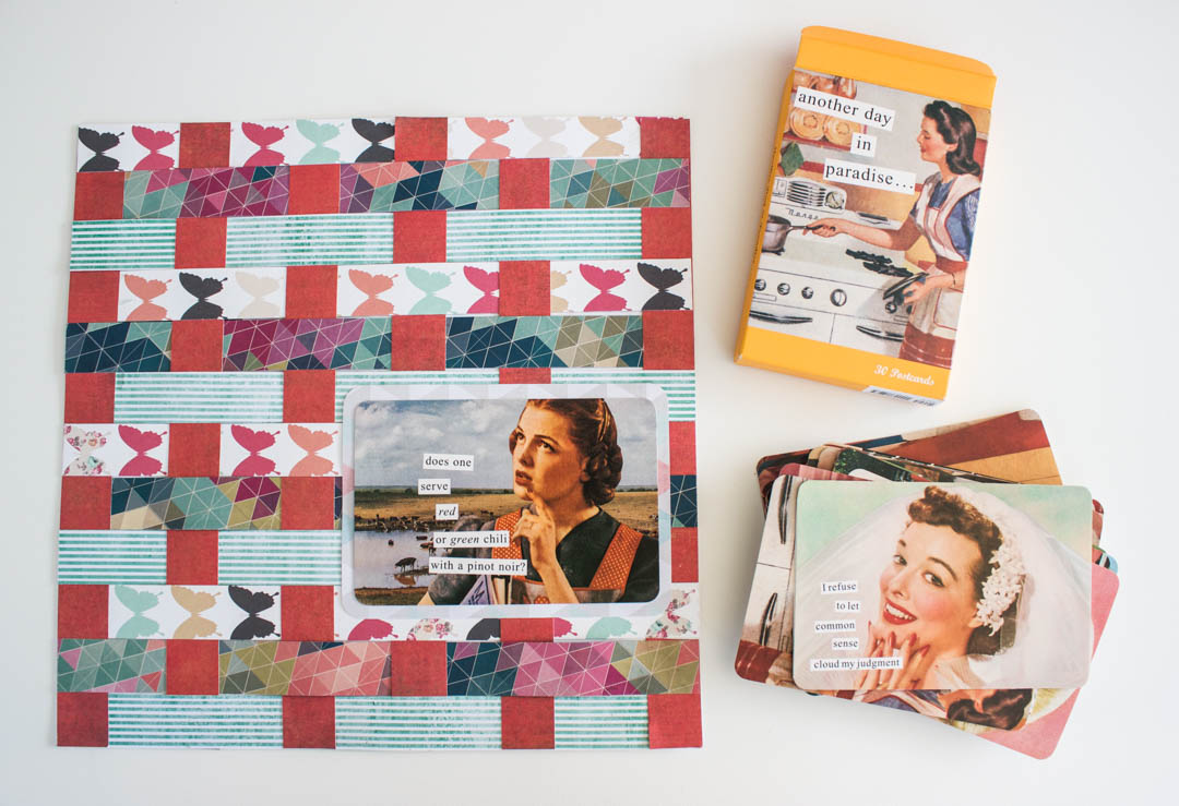 Weaved Paper Placements Tutorial Make Today Creative